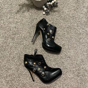 Dollhouse heel booties